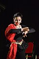 Dorothy Bhattacharya Dancing With Rabindra Sangeet - Sriniketan - Birbhum - 2017-10-21 5141.JPG