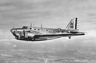 Douglas B-18 Bolo American bomber aircraft in service 1936-1946