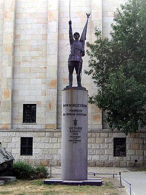 Józef Dowbor-Muśnicki - Monument to Dowbor-Muśnicki's men in Warsaw