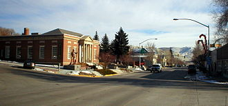 Green River, Wyoming - Image: Downtown GR