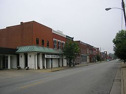 Downtown Taylorsville Kentucky
