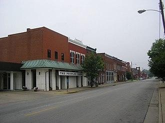 Taylorsville, Kentucky - Downtown Taylorsville