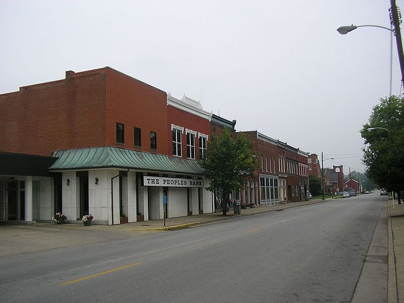 Taylorsville KY - image courtesy of W. Marsh, Wikimedia Commons
