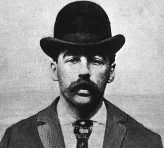 H. H. Holmes - H. H. Holmes' mugshot (1895)