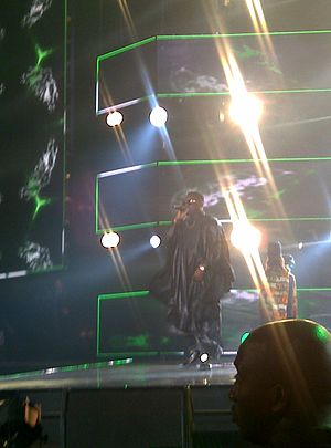 Dr SID - Dr SID performing at MTV Africa Music Awards 2014