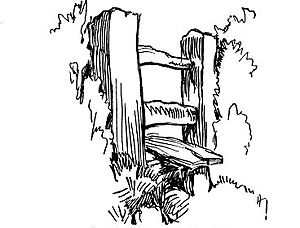 farm fence drawing. Fig. 67. Choose Simple Subjects Farm Fence Drawing