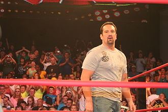 Tommy Dreamer - Dreamer at a TNA Impact! television taping in 2010