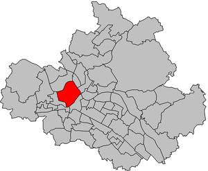 Friedrichstadt (Dresden) - Friedrichstadt within Dresden