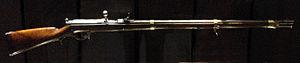 Needle gun - Dreyse needle gun, model 1865.