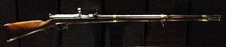 Dreyse needle gun - Dreyse needle gun, model 1865.