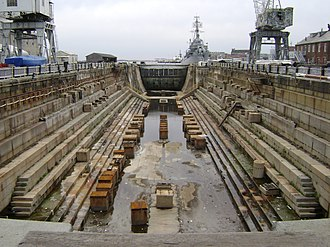 Boston Navy Yard - Image: Dry Dock 1