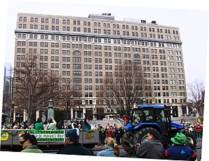 DuPont Building - During the St. Patrick's Day parade in 2009