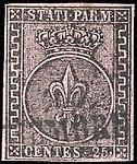 Duchy of Parma 1852 Sc4 used.jpg