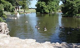 "Norman, Oklahoma - Brandt Park, ""The Duck Pond"""