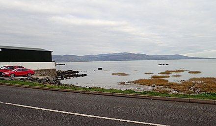 Dundalk Bay seen from the Haggardstown shore