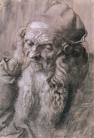 St. Jerome in His Study (Dürer, 1521) - Preparatory drawing.