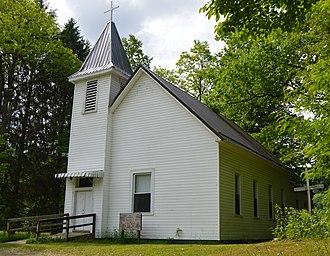 Dyer, West Virginia - Methodist church