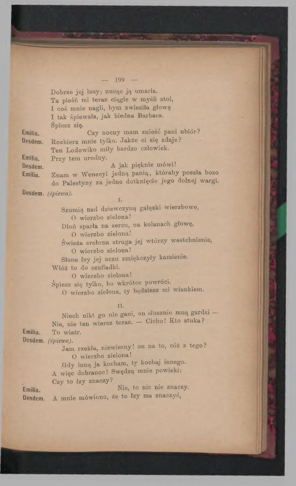 Stronadzieła Dramatyczne Williama Shakespeare T 5djvu209
