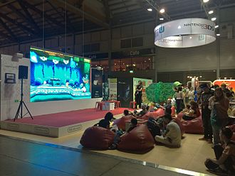 Nintendo Australia - A view of the Nintendo booth at the EB Games Expo 2015.
