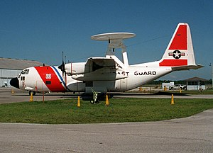 EC-130V side view at CGAS Clearwater 1993.JPEG