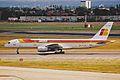 EC-FYM B757-256 Iberia LHR 15AUG00 (6602545029).jpg