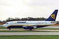 EI-CNV B737-230 Ryanair MAN 11APR99 (6141703439).jpg
