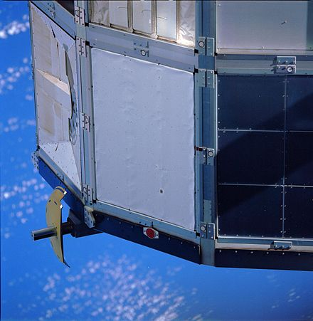 Aluminized Kapton thermal cover was used on the Ultra Heavy Cosmic Ray Experiment EL-1994-00018.jpeg