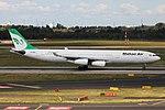 EP-MMD Airbus A340-300 Mahan Air DUS 2018-09-01 (4a) (44604688562).jpg
