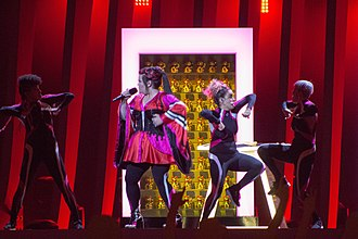 Toy (song) - Performance at the first semi final rehearsal