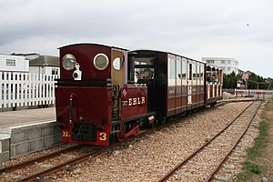 Alan Keef - Image: East Hayling Light Railway at Eastoke geograph.org.uk 499023