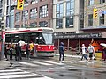Eastbound TTC streetcar loading at Sherbourne and King, 2015 07 17.JPG - panoramio.jpg