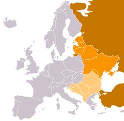 CIA World Factbook classification: Eastern Europe Southeastern Europe Transcontinental