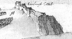 Edinburgh Castle 1544