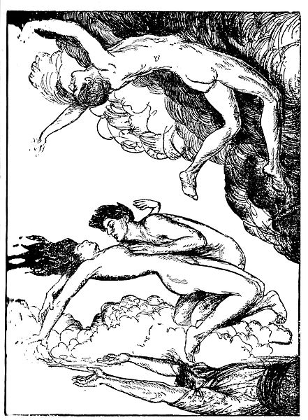 Fichier:Edmund J Sullivan Illustrations to The Rubaiyat of Omar Khayyam First Version Quatrain-029.jpg