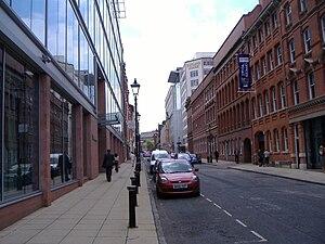 Edmund Street - The length of Edmund Street