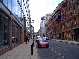 Edmund Street - The length of Edmund Street