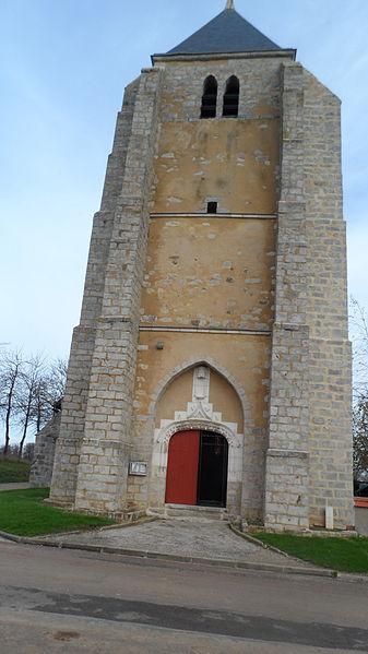 Eglise Saint-Loup-d'Ordon (Yonne) France des XIII et XV eme siècle