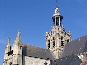 Bourbourg - St Jean Baptiste de Bourbourg, Church.
