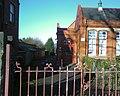 Eirias High School, A block entrance, Colwyn Bay - geograph.org.uk - 1757117.jpg