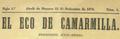 El Eco de Camarmilla (15-09-1879) cabecera.png