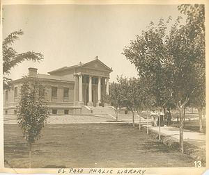 El Paso Public Library - El Paso Public Library in 1909