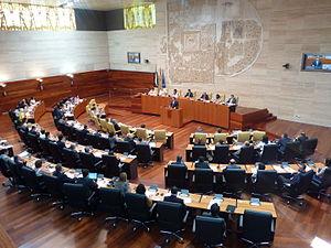 Assembly of Extremadura - Image: El Pleno de la Asamblea de Extremadura