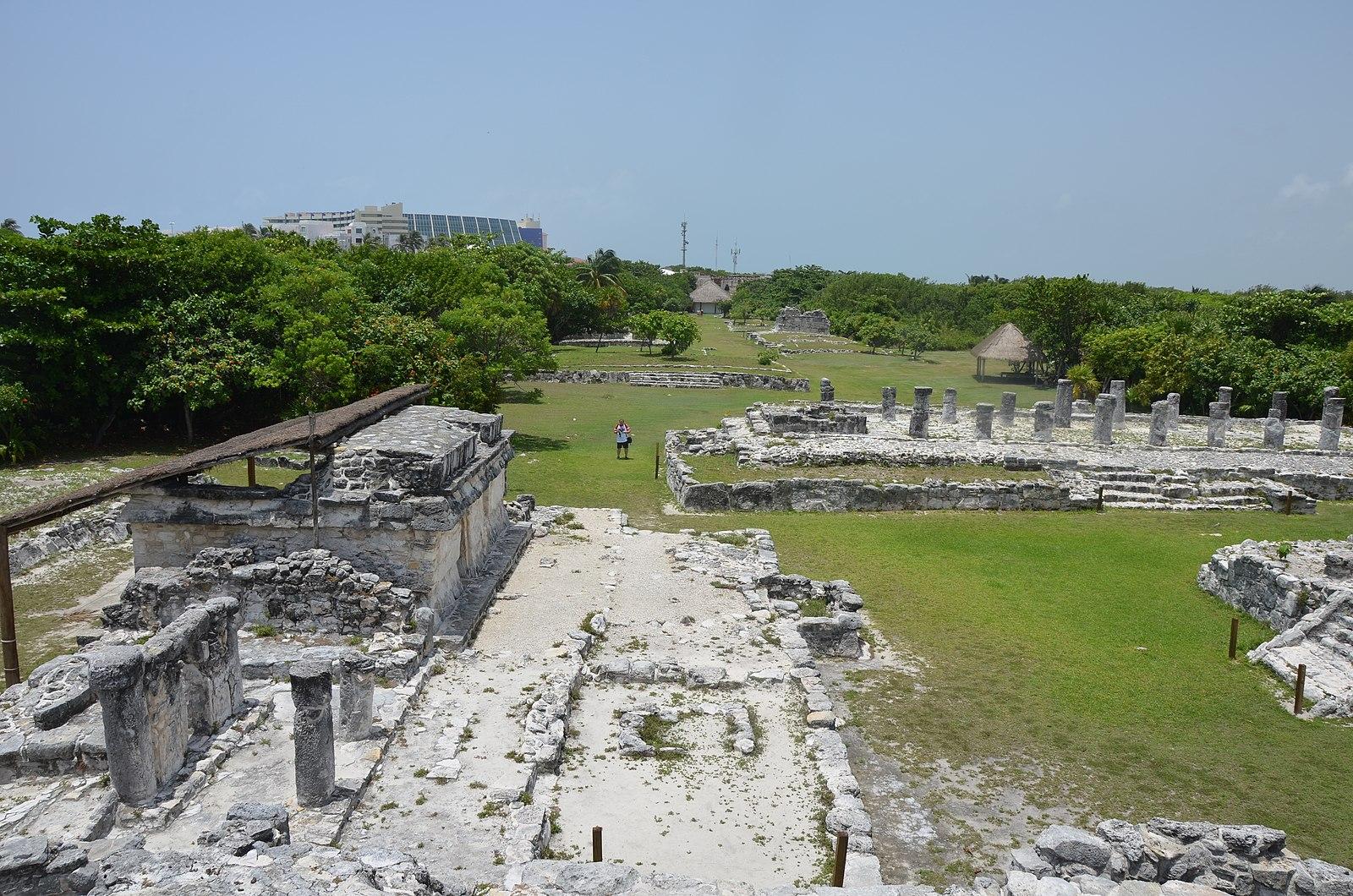 El Rey Ruins in Cancun