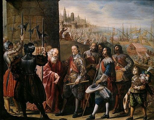 El socorro de Génova por el II marqués de Santa Cruz (Antonio de Pereda)