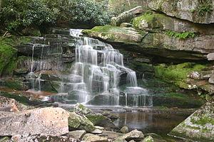 Elakala Falls - The second falls
