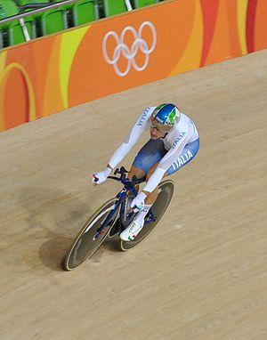 Elia Viviani - Viviani at the 2016 Rio Olympics omnium competition