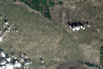 Elk Hills Oil Field - The Elk Hills Oil Field, west of the California Aqueduct.