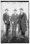 Elliott Cowdin, Norman Prince, and William Thaw on December 23, 1915.jpg