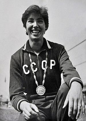 Elvīra Ozoliņa - Elvīra Ozoliņa at the 1960 Olympics