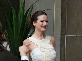Emily Mortimer - Mortimer at a film premiere in September 2007